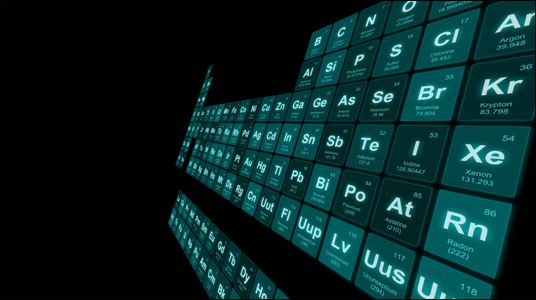 cool design interactive 3d periodic table